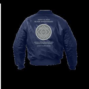 SFVACNA 25 Bomber jacket Logo back Only